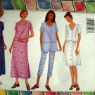 Butterick Pattern # 6553 UNCUT Misses / Misses Petite Overskirt and Pants Size 6 8 10
