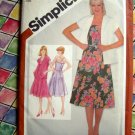 Simplicity Pattern # 9949 UNCUT Misses Fitted Sundress Unlined Jacket Size 14 --Old School