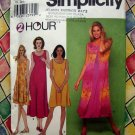 Simplicity Pattern # 9119 UNCUT Misses Pullover Dress  Size XS S M L XL