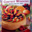 Taste of Home's Contest Winning Annual Recipes 2007 Cookbook