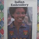 Butterick Pattern #4783 UNCUT Indian Embroidery Transfer Pattern Designs