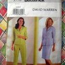 Butterick Pattern # 3778 UNCUT Misses Top Skirt Pants Size 8 10 12