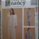 McCall's Sewing With Nancy Pattern # 2652 UNCUT Misses Dress Unlined Jacket Size 16 18