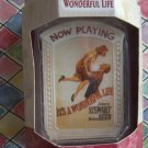 It's a Wonderful Life Rare Ornament ~NIB George, Mary Movie Poster