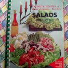 Vintage 1964 Favorite Recipes of Home Ec Teachers - Salads Appetizers From Scratch!