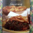 Williams-Sonoma Savoring Meat and Poultry by Georgeanne Brennan, Chuck Williams HC Cookbook