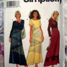 Simplicity Pattern # 8377 UNCUT Misses Pullover Dress Size 12 14 16 Hard to find!