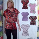 New Look Pattern # 6915 UNCUT Misses Blouse / Top Size 8 10 12 14 16 18