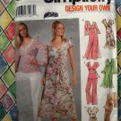 Simplicity Pattern # 5193 UNCUT MIsses/ Misses Petite Dress Top Pants Size 14 16 18 20