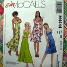 McCalls Pattern # 4444 UNCUT Misses Halter Dress Two Lengths Size 8 10 12 14