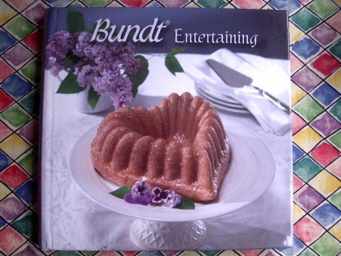 Bundt Entertaining Cookbook Nordic Ware NordicWare Cake & Other Recipes