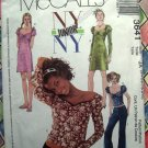 McCall's Pattern # 3641 UNCUT Junior NYNY Wardrobe Dress Tops Pants Size 3/4 to 9/10