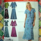 Simplicity Pattern # 4221 UNCUT Woman's Top Skirt Size 20 22 24 26 28