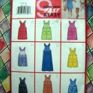 Butterick Pattern # 6065 UNCUT Misses Jumper & Overalls Size 6 8 10