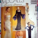 McCalls Pattern # 4248 UNCUT Misses Evening Gown/Dress Top & Skirt Size 10 12 14 16