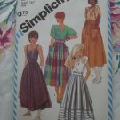 Simplicity Pattern # 6338 UNCUT Misses Skirt 2 Lengths Styles Size 12