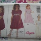 Butterick Pattern # 3773 UNCUT Girl's Special Occasion Dress Size 7 8 10