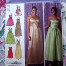 Simplicity Pattern # 2440 UNCUT Special Occasion Dress Size 12 14 16 18 20
