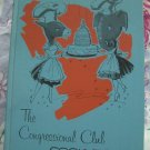 Vintage 1965 CONGRESSIONAL COOKBOOK Washington DC Senate Congress
