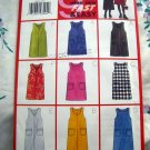 Butterick Pattern # 5649 UNCUT Girls Jumper Size 7 8 10