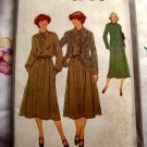 Vintage 1978 Simplicity Pattern # 8788 UNCUT Dress and Jacket Size 10