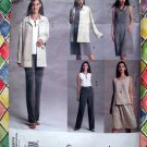 Vogue Easy Pattern # 2674 UNCUT Misses Jacket Dress Top Skirt Pants Size 8 10 12