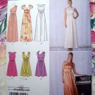 Simplicity Pattern # 2692 UNCUT Special Occasion Formal Dress Size 4 6 8 10 12