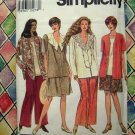 Simplicity Pattern # 8960 UNCUT Woman's Pants or Shorts Top Size 26 28 30 32