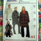 BURDA Express Pattern # 8267 UNCUT Jacket Size 16/18 20/22 24/26 28/30 32/34