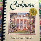 Atlanta Cooknotes Junior League Cookbook Georgia GA Southern Recipes