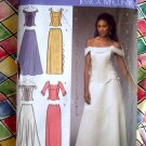 Simplicity Pattern # 4689 UNCUT Misses Formal Gown Long Skirt Top Size 16 18 20 22