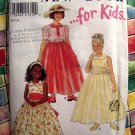 Simplicity New Look Pattern # 6737 UNCUT Girls Special Occasion Dress Size 4 5 6 7 8 9