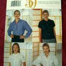 Butterick Pattern UNCUT # 6020 Misses Blouses Sizes 8 10 12