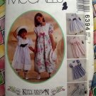 McCall's Pattern # 6394 Girls Special Occasion Dress Size 7