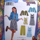 Simplicity Pattern # 3515 UNCUT Girls  Hanna Montana Dress Jacket Pants Size 8 10 12 14 16