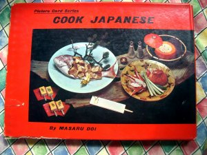 Vintage 1964 Japanese Cookbook ~ Cook Japanese