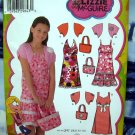 Simplicity Pattern # 4255 UNCUT Girls Dress Shrug Purse  Size 8 10 12 14 16