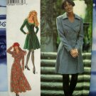 STYLE Pattern # 2494 UNCUT Misses Coat Dress (Coatdress) Two Lengths  Size 8 10 12 14 16 18