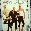 McCalls Pattern # 5394 UNCUT Misses Petite, Average Tall ~ Slim Fit Leggings Size Large XL XXL