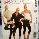 McCalls Pattern # 5394 UNCUT Misses Petite, Average Tall ~ Slim Fit Leggings Size XSM Small Medium