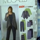 McCalls Pattern # 4606 UNCUT Woman's Jacket Top Dress Pants Skirt Size 26 28 30 32