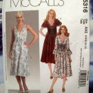 McCall's Pattern # 5316 Laura Ashley Summer Dress Size 4 6 8 10 12