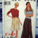 NEW LOOK Pattern # 6454 UNCUT Misses Flared Skirt Size 8 10 12 14 16 18