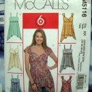 McCalls Pattern # 5116 UNCUT Womans Plus Top Size 26 28 30 32