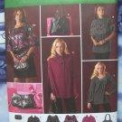 Simplicity Pattern #2735 UNCUT Misses Tunics Bags Cape Size 6 8 10 12 14