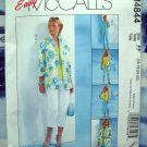 McCalls Pattern # 4844 UNCUT Misses Misses Wardrobe Shirt Jacket Pants Top Skirt Size 16 18 20 22