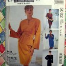 McCalls Pattern # 5082 UNCUT Misses Pullover Dress Top Skirt Belts Size 14 16 18 20