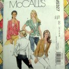 McCalls Pattern # 5327 UNCUT Misses Unlined Jacket Variations Size 12 14 16 18