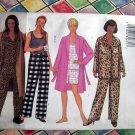 Butterick Pattern # 6890 UNCUT Robe Top Shorts Pants PJs Size 16 18 20Lounging Wear
