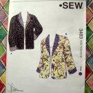KWIK SEW Pattern # 3483 UNCUT Womens Coat Jacket  Size 1X 2X 3X 4X